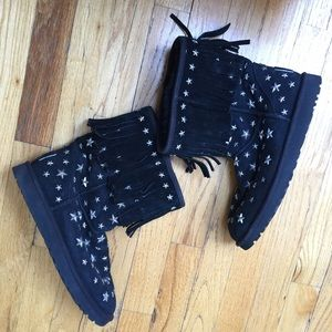 Jimmy Choo Star Uggs Size 9